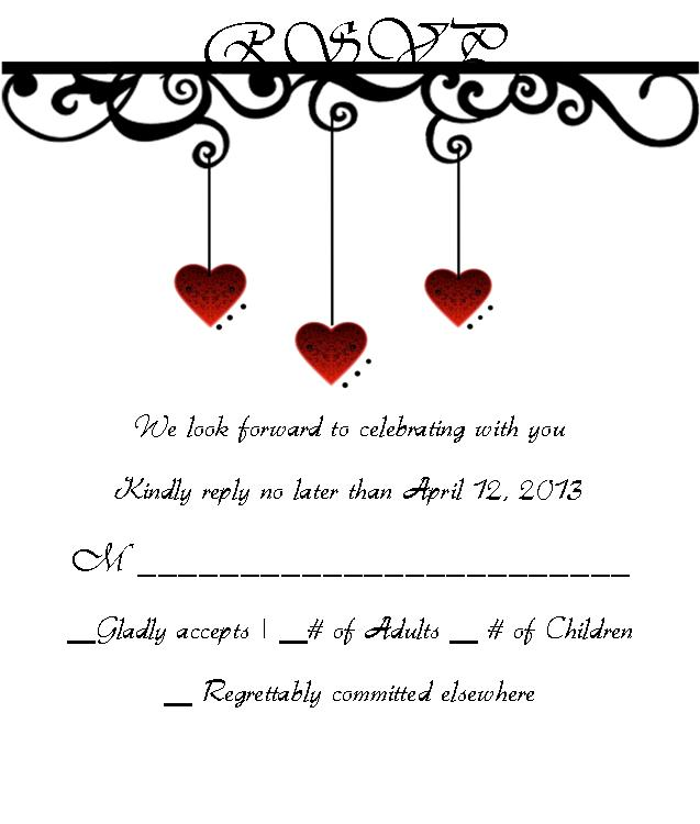 Proper Way To Respond To A Wedding Invitation for perfect invitations layout
